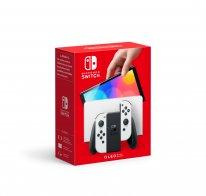 Nintendo Switch modèle OLED 06 7 2021 console hardware pack bundle blanc