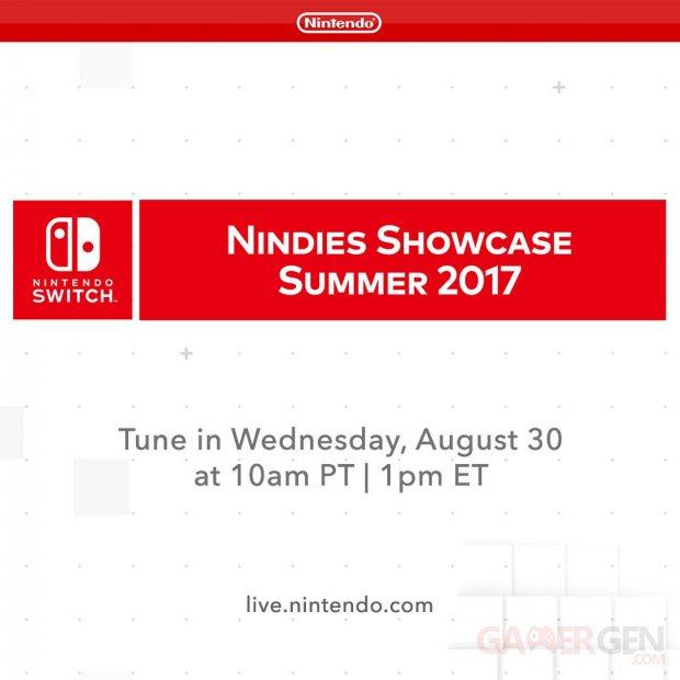 Nintendo Switch Nindies Summer 2017