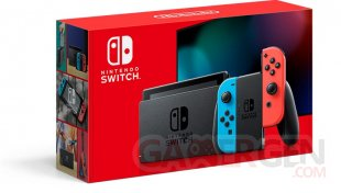 Nintendo Switch nouveau modèle 08 2019 hardware bundle 1