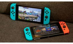 Nintendo Switch nouveau modele test image batterie duree autonomie