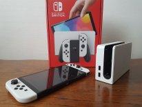 Nintendo Switch OLED unboxing déballage photos 62 06 10 2021