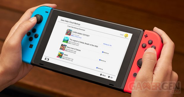 Nintendo Switch Online console image ban