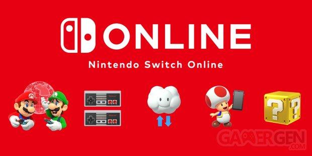 Nintendo Switch Online logo head NSO