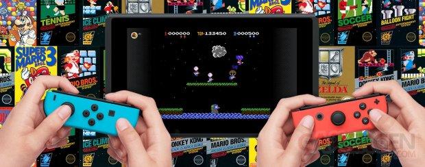 Nintendo Switch Online NES jeux titres ban vignette image