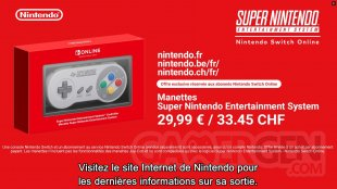 Nintendo Switch Online SNES Manette