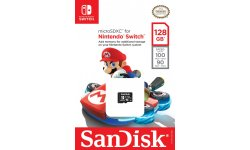 Nintendo Switch SanDisk 64 128 Go (1)