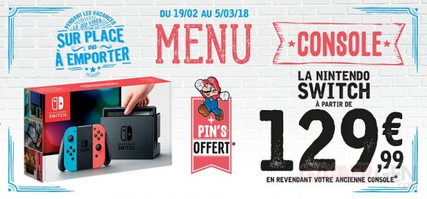 Nintendo Switch Soldes campagne Micromania images (2)