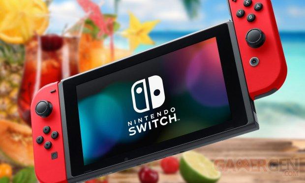 Nintendo Switch vignette ban console