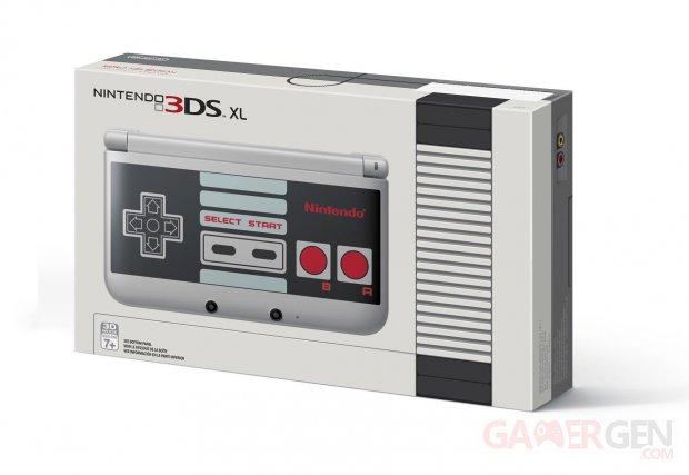 Nintendo XL NES edition collector limitee 11.09.2014