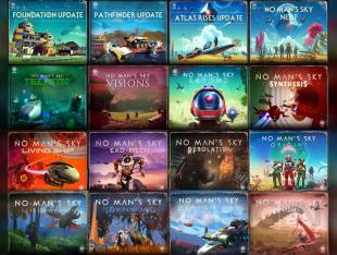No Man's Sky all patch updates mise à jour extensions 2021