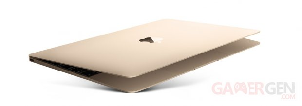 macbook apple pr sente son nouveau pc portable dor. Black Bedroom Furniture Sets. Home Design Ideas