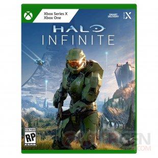 Nouvelle jaquette pochette boite Xbox 2021 Halo Infinite