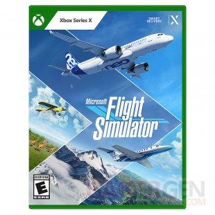 Nouvelle jaquette pochette boite Xbox 2021 Microsoft Flight Simulator