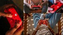 Nouvelle manette sans fil Xbox Rouge Éclatant Pulse Red hardware pic 2