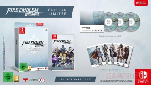 NSwitch FireEmblemWarriors Limited Edition FR image912w