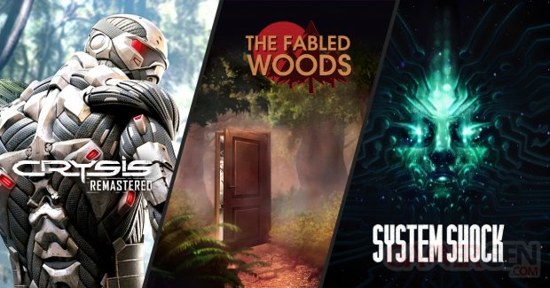 NVIDIA DLSS System Shock Crysis Fabled Woods