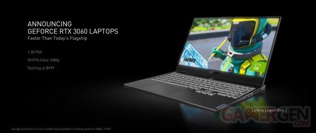 nvidia geforce announcing geforce rtx 3060 laptops