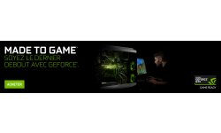 NVIDIA GTX geforce made to game 1920x455 fr