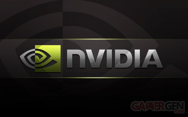 Nvidia Logo HD Black Wallpaper