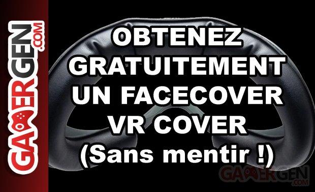 Obenez un facecover VR Cover gratuitement Oculus Quest 2