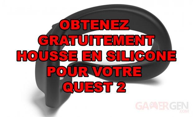 Obtenir Housse Silicone Gratuitement Oculus Quest 2