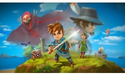 Oceanhorn Super Hero Art
