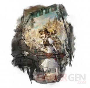 Octopath Traveler artwork Tressa 09 03 2018