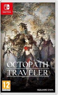 Octopath Traveler jaquette