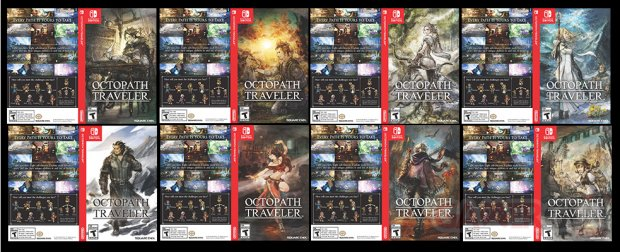 Octopath Traveler Jaquettes