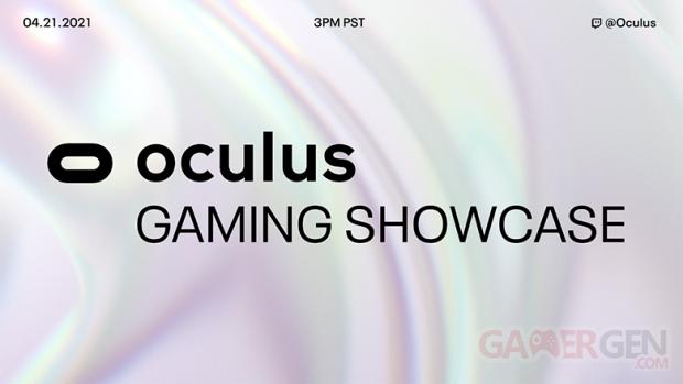 Oculus Gaming Showcase logo