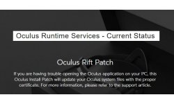 Oculus rift Patch HS