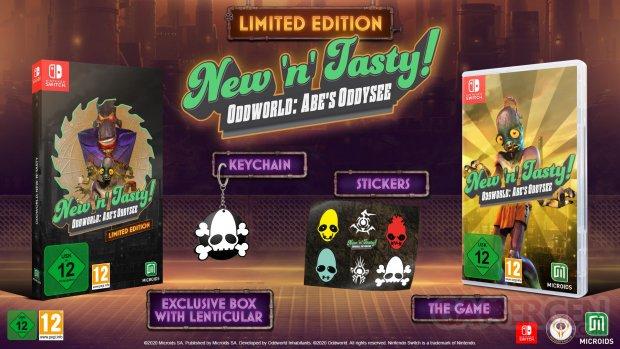 Oddworld New'n'Tasty Limited Edition.