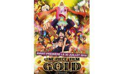 One Piece film Gold france annonce affiche image