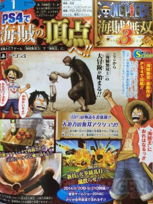One Piece Pirate Warriors 3 scan Jump