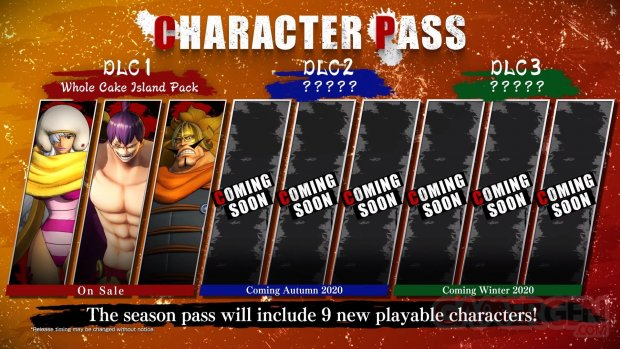 One Piece Pirate Warriors 4 Character Pass 02 08 2020