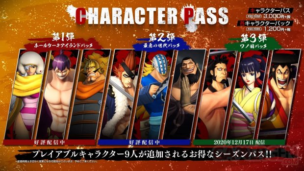 One Piece Pirate Warriors 4 Character Pass 14 12 2020