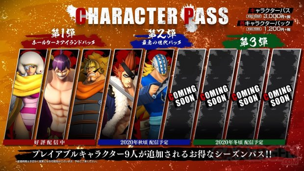 One Piece Pirate Warriors 4 Character Pass 16 09 2020