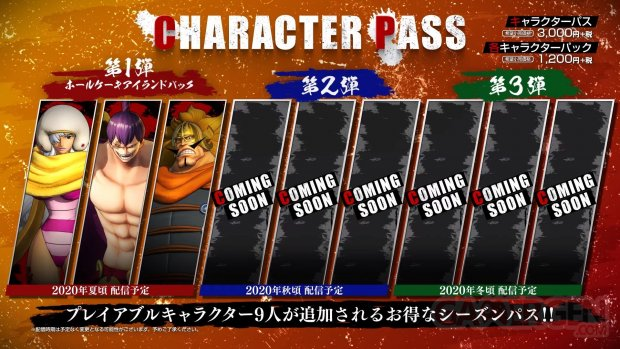 One Piece Pirate Warriors 4 Character Pass 26 06 2020