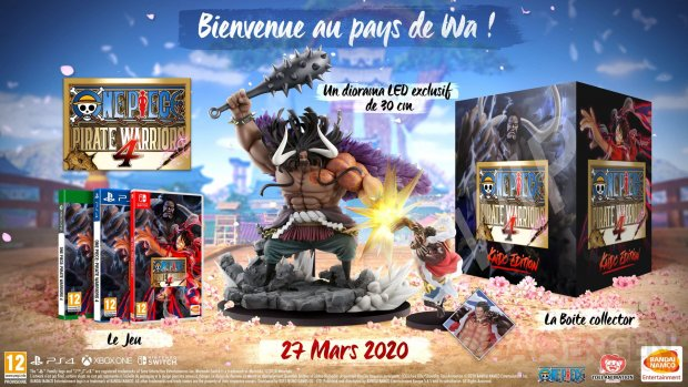 One Piece Pirate Warriors 4 collector 25 11 2019