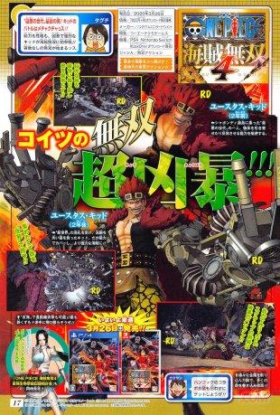 One Piece Pirate Warriors 4 scan Shonen Jump Kid 15 03 2020