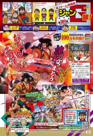 One Piece Pirate Warriors 4 scan Shonen Jump Oden Kozuki 14 12 2020
