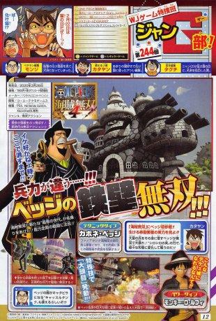 One Piece Pirate Warriors 4 Weekly Shonen Jump scan Capone 14 02 2020