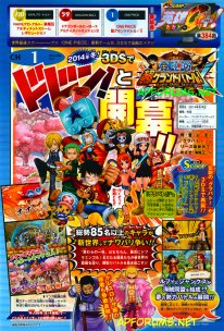 One Piece Super Grand Battle 23 07 2014 scan