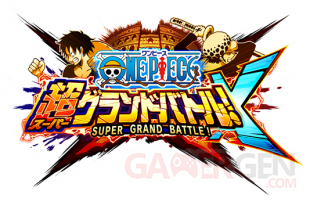 One Piece Super Grand Battle X 28 07 2014 logo