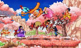 One Piece Super Grand Battle X 28 07 2014 screenshot 2
