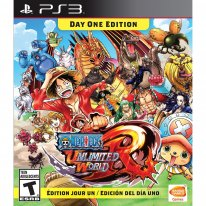 one piece unlimited world red cover jaquette boxart us ps3