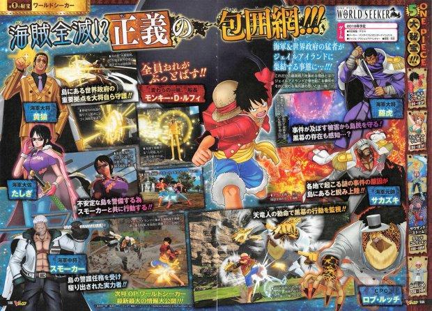 One Piece World Seeker 17 08 2018 scan