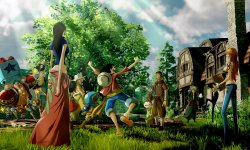 One Piece World Seeker artwork village 09 02 2018