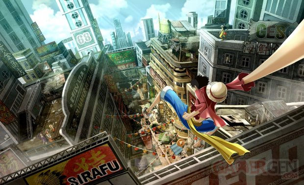 One Piece World Seeker artwork ville 09 02 2018