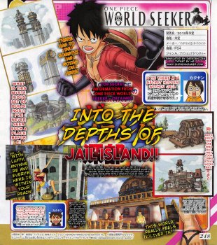 One Piece World Seeker scan 13 05 2018